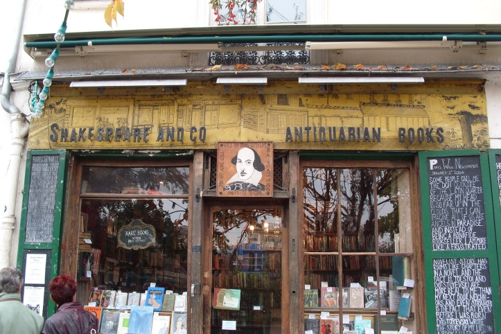 Shakespeare and Company Store Front