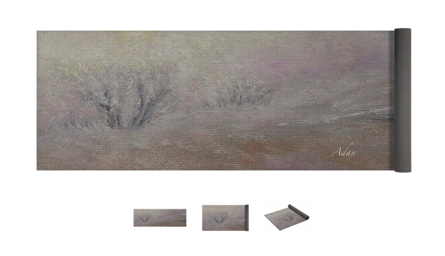 Sunrise Through the Fog ©Felipe Adan Lerma; yoga mat design, available at Fine Art America https://fineartamerica.com/featured/sunrise-through-the-fog-felipe-adan-lerma.html?product=yoga-mat .