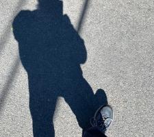 Self Portrait 19 - Balancing With My Shadow © Felipe Adan Lerma - https://fineartamerica.com/featured/self-portrait-19-balancing-with-my-shadow-felipe-adan-lerma.html .