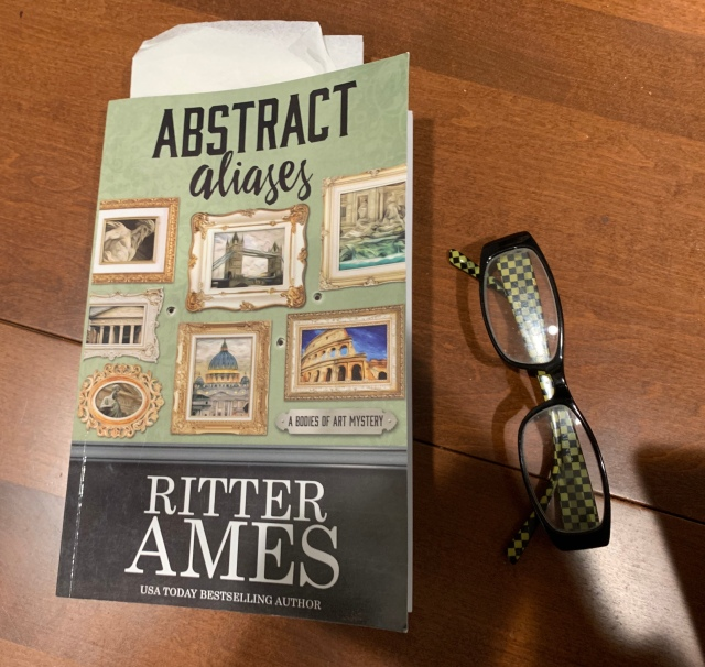 Abstract Aliases, an art mystery novel by Ritter Ames