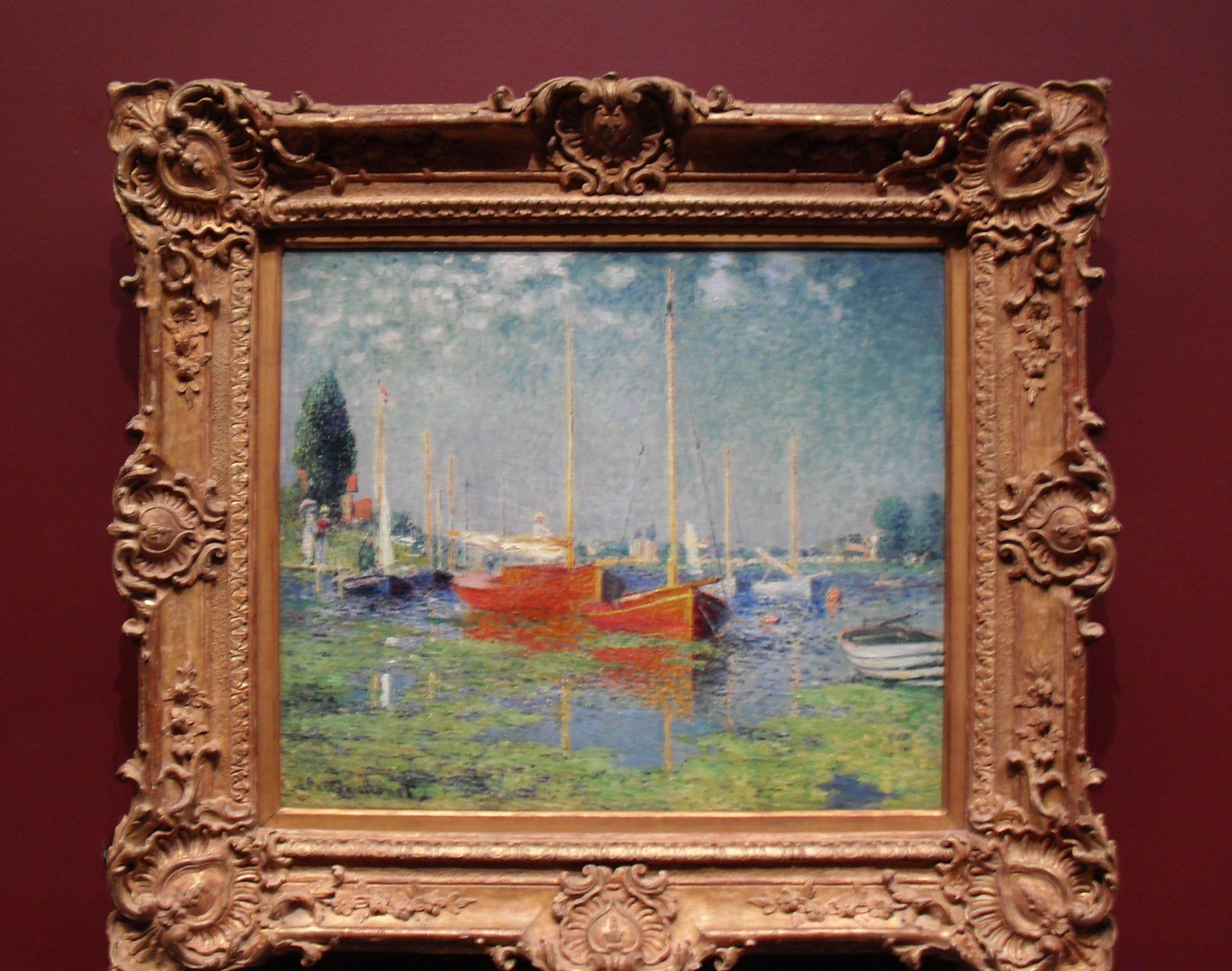 """Monet, """"Argenteuil"""" l'Orangerie, circa 1975"""