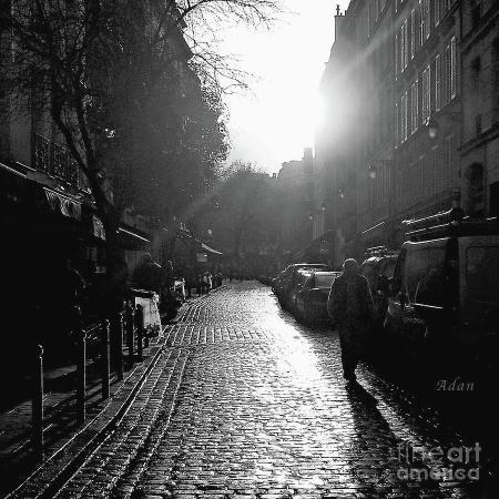 Evening Walk in Paris Latin Quarter ©Felipe Adan Lerma