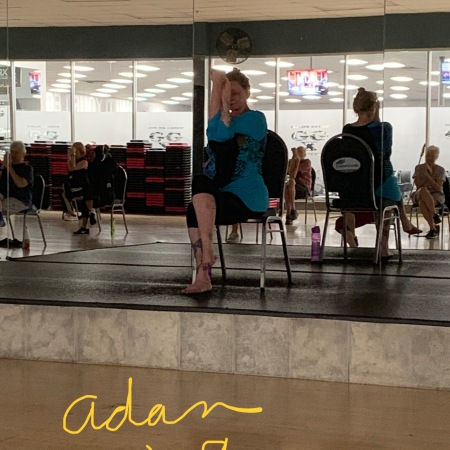 SilverSneakers yoga class at Gold's Gym - https://felipeadanlerma.com/2019/06/15/silversneakers-yoga-id-forgotten-what-i-was-missing-😊-🙏/