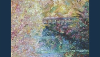 Autumn Colors Pedestrian Bridge Poster ©Felipe Adan Lerma - https://fineartamerica.com/featured/birds-boaters-and-bridges-of-barton-springs-autumn-colors-pedestrian-bridge-greeting-card-poster-felipe-adan-lerma.html