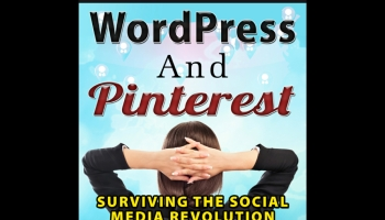 Photo cover - Quick Guide to WordPress and Pinterest by Gazella D.S. Pistorious.
