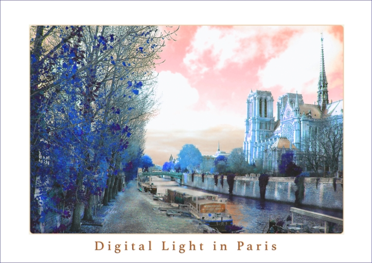 Digital Art in Paris blue line © Felipe Adan Lerma - part of my Digital Art Collection at Fine Art America - https://fineartamerica.com/profiles/felipeadan-lerma.html?tab=artworkgalleries&artworkgalleryid=644056 .