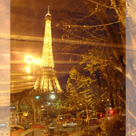 Eiffel Tower by Bus Tour Poster © Felipe Adan Lerma https://fineartamerica.com/featured/eiffel-tower-by-bus-tour-greeting-card-poster-felipe-adan-lerma.html