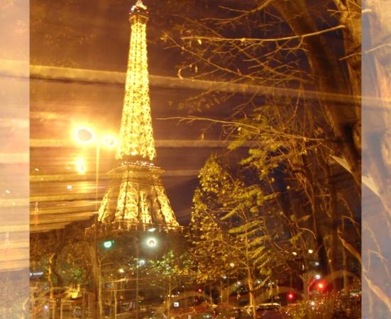 Eiffel Tower by Bus Tour Poster © Felipe Adan Lerma https://fineartamerica.com/featured/eiffel-tower-by-bus-tour-greeting-card-poster-felipe-adan-lerma.html