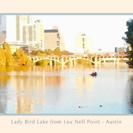 Lady Bird Lake from Lou Neff Point © Felipe Adan Lerma https://felipeadan-lerma.pixels.com/featured/austin-texas-lady-bird-lake-mid-november-two-art-detail-poster-felipe-adan-lerma.html