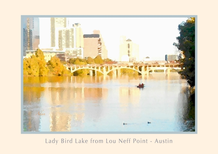 Lady Bird Lake from Lou Neff Point © Felipe Adan Lerma - part of my Posters Collection at Fine Art America - https://fineartamerica.com/profiles/felipeadan-lerma.html?tab=artworkgalleries&artworkgalleryid=701519&page=3 .