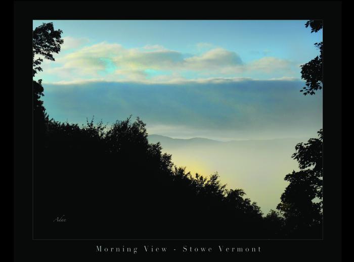 Morning View Stowe Vermont © Felipe Adan Lerma https://felipeadan-lerma.pixels.com/featured/timberholm-inn-morning-view-stowe-vt-poster-felipe-adan-lerma.html