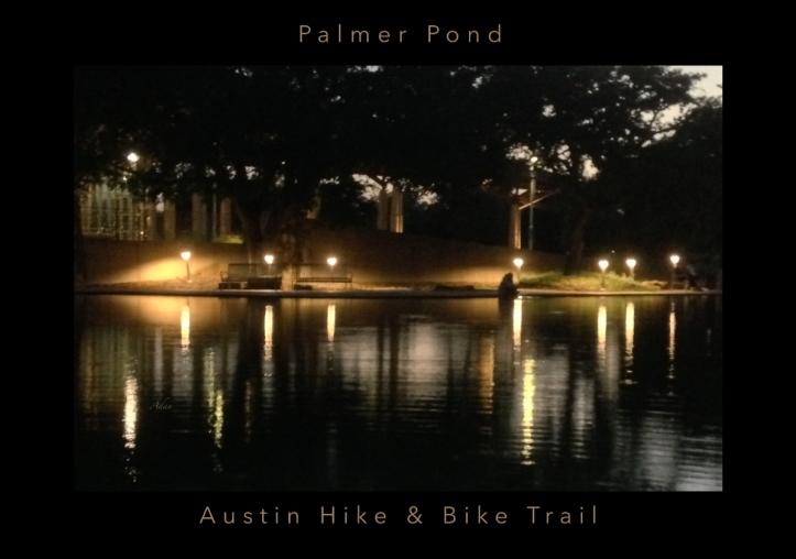 Soft Evening at Palmer Pond Poster with text © Felipe Adan Lerma https://fineartamerica.com/featured/soft-evening-at-palmer-pond-poster-black-border-with-text-felipe-adan-lerma.html