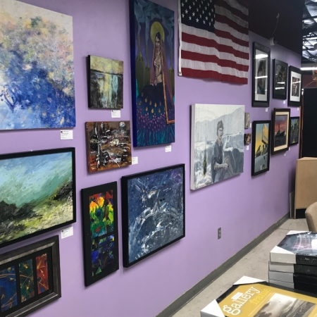 U.S. Veterans Art Show at Jerry's Artarama 2019 🇺🇸 🎨