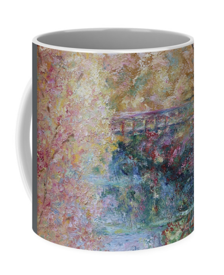 Autumn Colors Pedestrian Bridge coffee mug ©Felipe Adan Lerma https://fineartamerica.com/featured/birds-boaters-and-bridges-of-barton-springs-autumn-colors-pedestrian-bridge-felipe-adan-lerma.html?product=coffee-mug