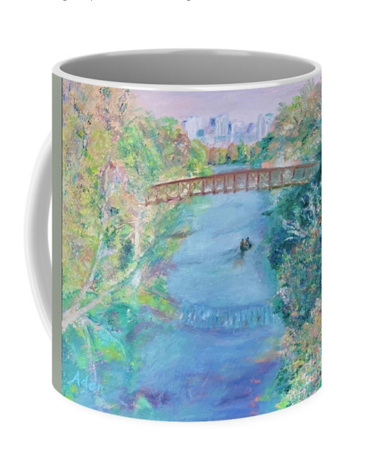 Barton Springs Autumn Austin coffee mug © Felipe Adan Lerma https://fineartamerica.com/featured/1-barton-springs-autumn-austin-felipe-adan-lerma.html?product=coffee-mug