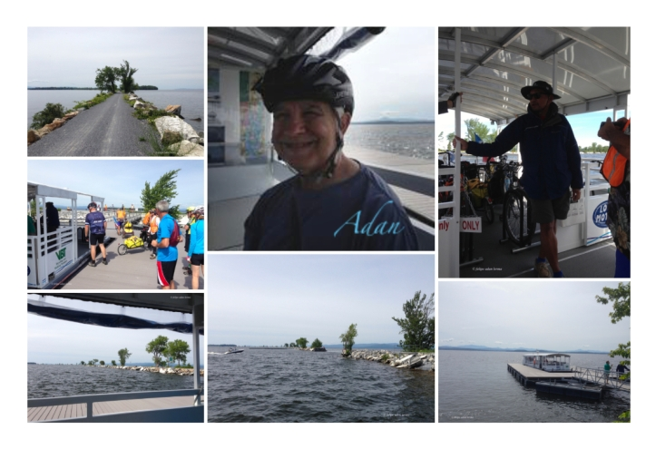 Image Sampler Header for - Biking Across Lake Champlain Vermont – Four Years in the Making Circa 2015 🚴‍♀️ ; Crossing Lake Champlain on a bicycle was a major desired milestone of mine that's persisted since I'd first learned it existed, back in the summer of 2011.