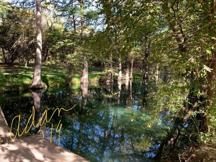 Blue Hole Wimberley Texas - ©Felipe Adan Lerma
