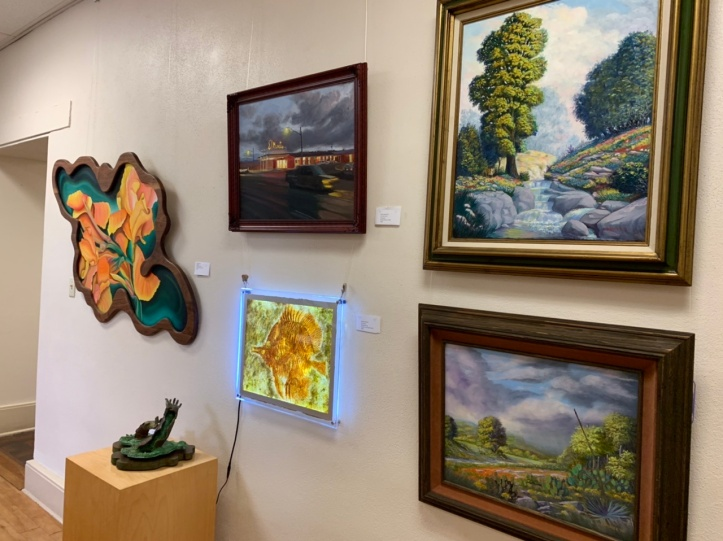 2019 Veterans Art Show at the Old Bakery & Emporium 2