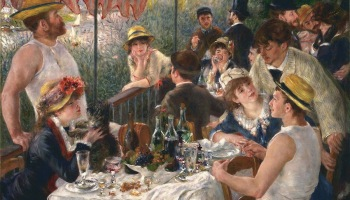Renoir: Luncheon of the Boating Party, 1881