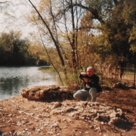 Adan, Shooting Pics at Lady Bird Lake Austin 2002 😊