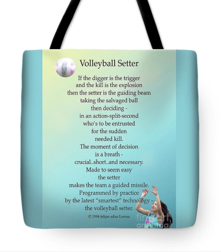 Volleyball Setter Poster ©Felipe Adan Lerma https://felipeadan-lerma.pixels.com/featured/volleyball-setter-poster-felipe-adan-lerma.html