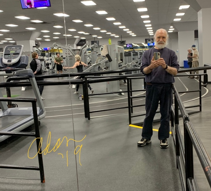 Adan @ Gold's Gym 11.08.19