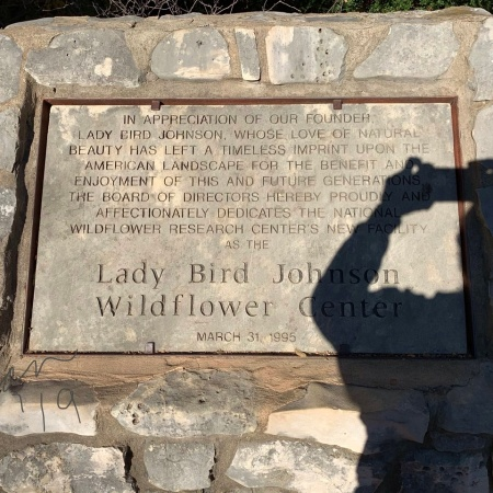 At Lady Bird Johnson Wildflower Center N ov 24'19 a