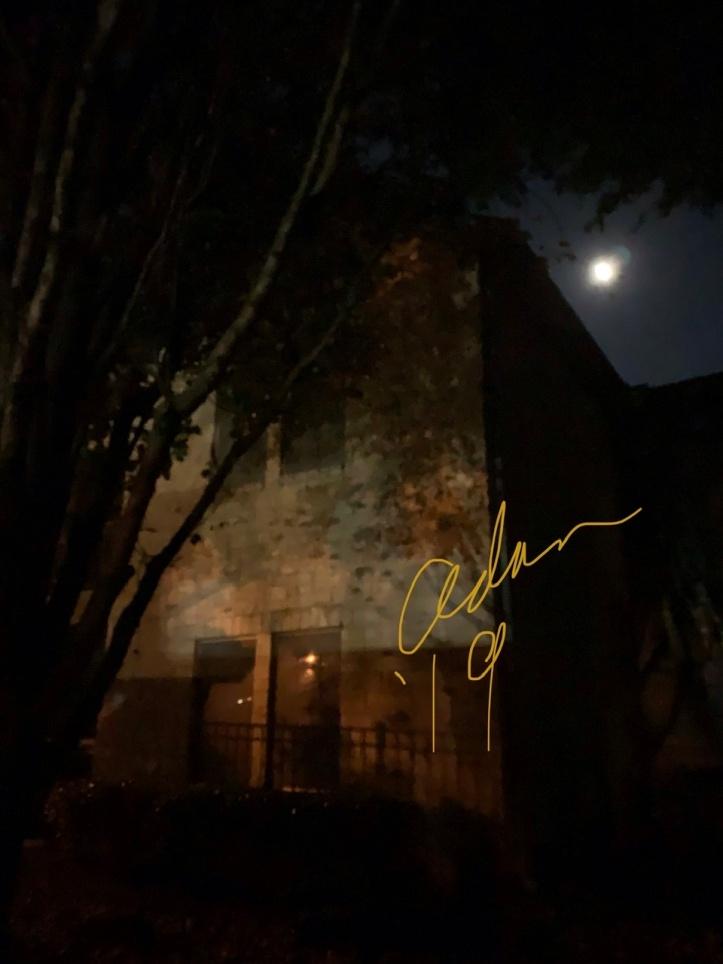 Waxing Moon 11.09.19 on Evening Walk ©Felipe Adan Lerma