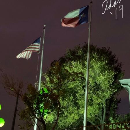 Evening Walk Cloudy Windy Nov 21'20 ©Felipe Adan Lerma