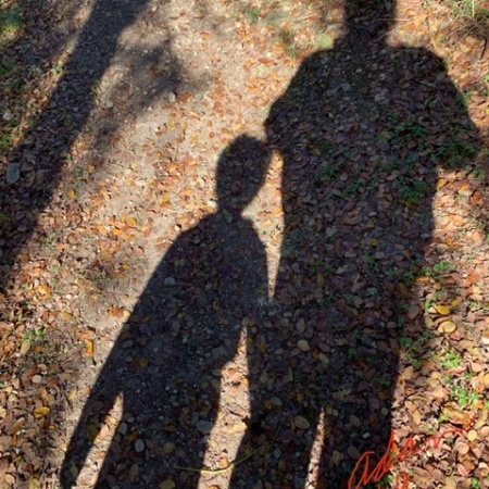 Shadow Selfie With Max Nov 23'19 ©Felipe Adan Lerma