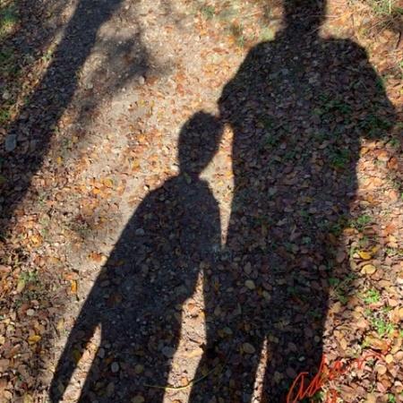 Shadow Selfie With Max Nov 23'19 ©Felipe Adan Lerma https://felipeadanlerma.com/2019/11/24/my-yesterday-in-pictures-for-nov-23-2019-😊/