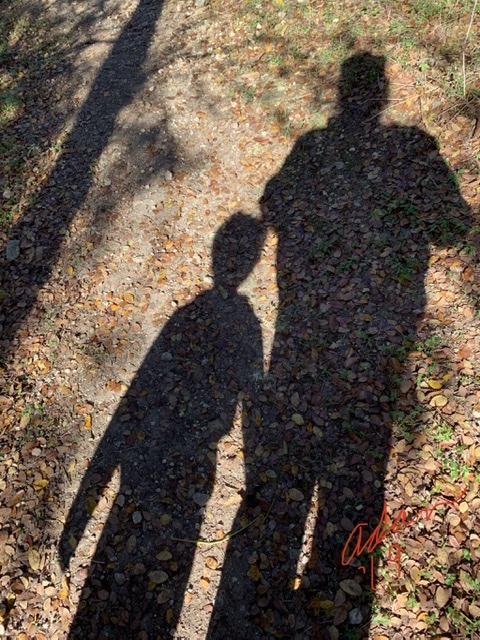 Shadow Selfie With Max Nov 23'19 ©Felipe Adan Lerma