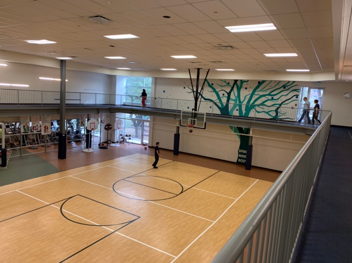 The Y Austin Texas - Walking Track & Gym