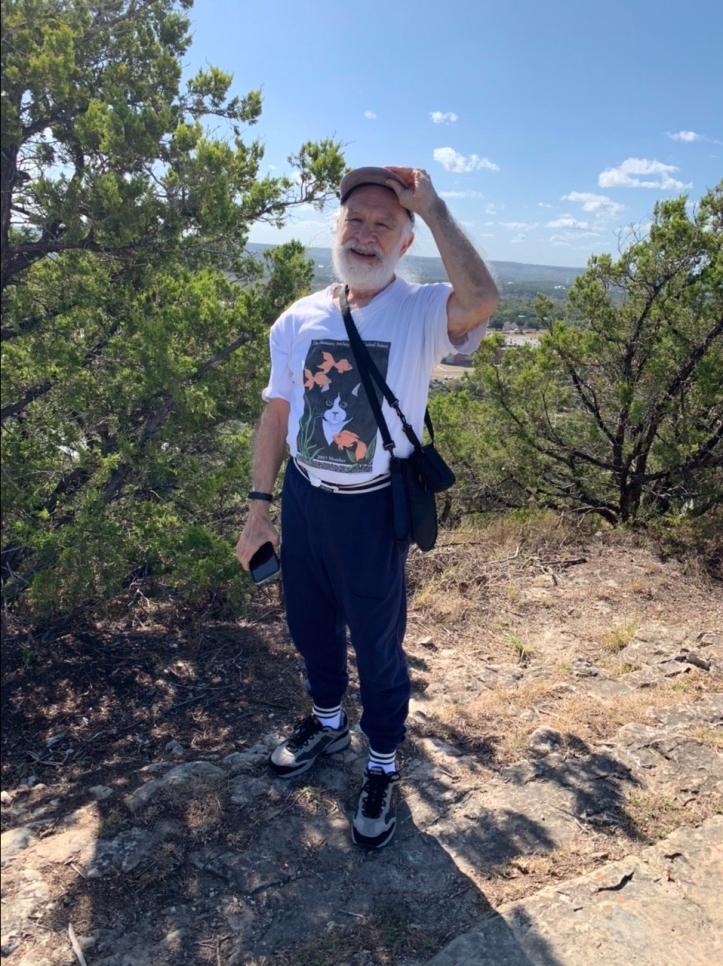 Felipe Adan Lerma on Old Baldy Wimberley Texas ©Felipe Adan Lerma