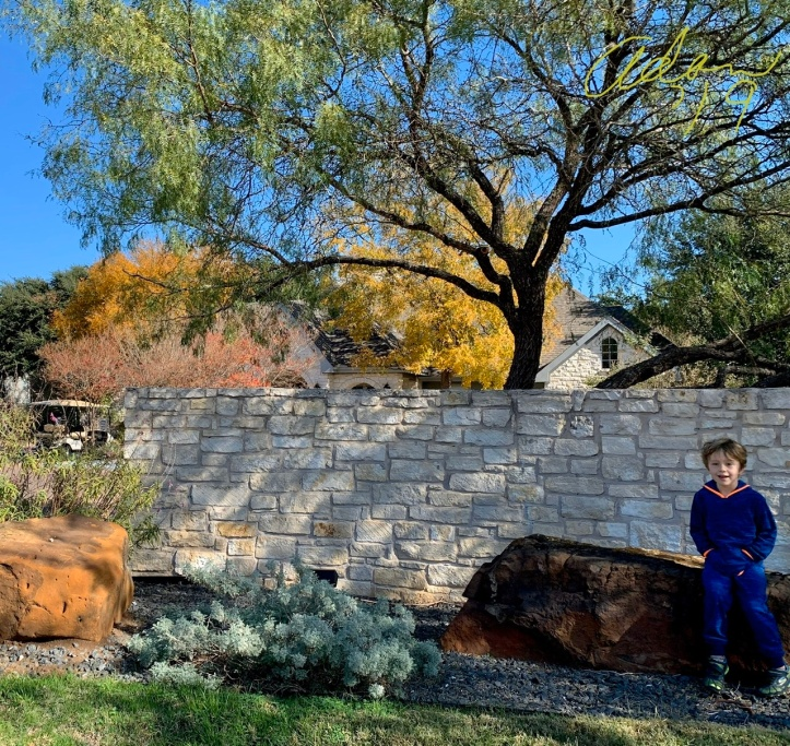 With Max by Stone Wall Nov 23'19 ©Felipe Adan Lerma