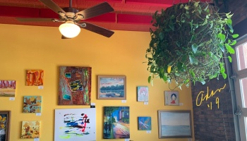 My Art at Cypress Grill Nov '19 ©Felipe Adan Lerma