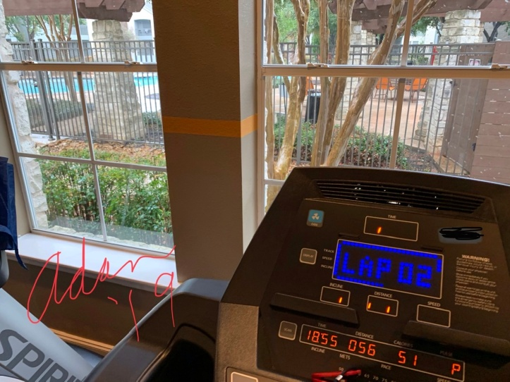 Exercising Indoors at Clubhouse Gym Nov 14'19