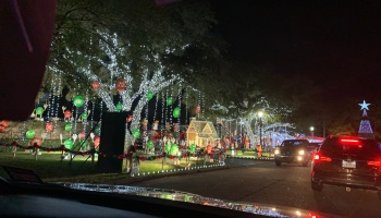 Christmas Lights Houston Neighborhood tour 2019