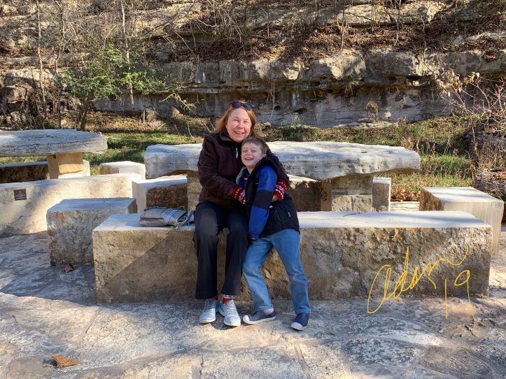 Blue Hole Park Wimberley Texas, Sheila & Max 12.20.20 ©Felipe Adan Lerma