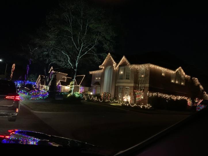 Christmas Lights Houston Neighborhood tour 2019