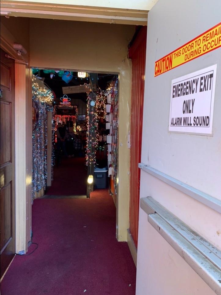Donn's Depot 6th Annual Christmas Bazaar 2019 Austin Texas rear entrance