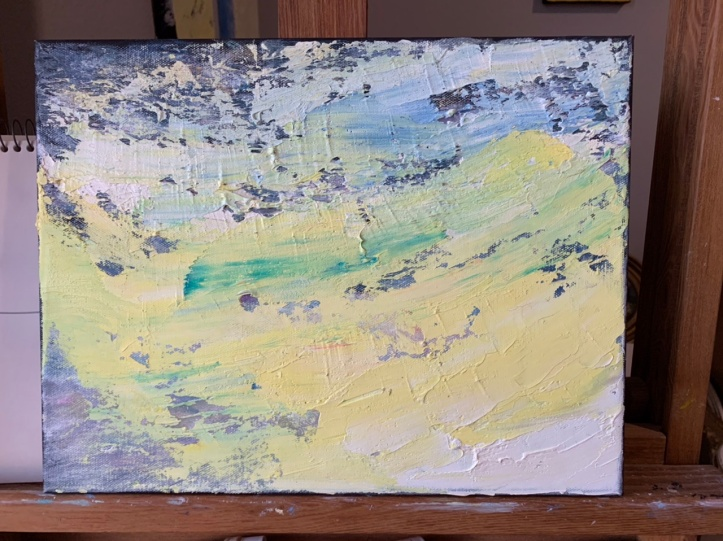 In-progress abstract 11x14 Dec 11'19 ©Felipe Adan Lerma