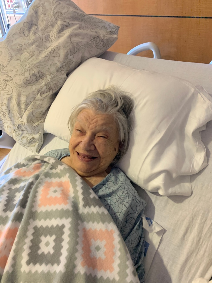 Mom age 92 Dec 2019 ❤️