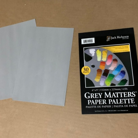 Jack Richeson Grey Matters Paper Palette 30ct https://amzn.to/34zlCIP