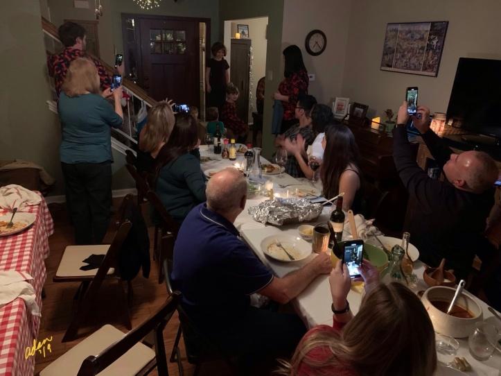 Children's Singing Moment, Christmas Dinner 2019