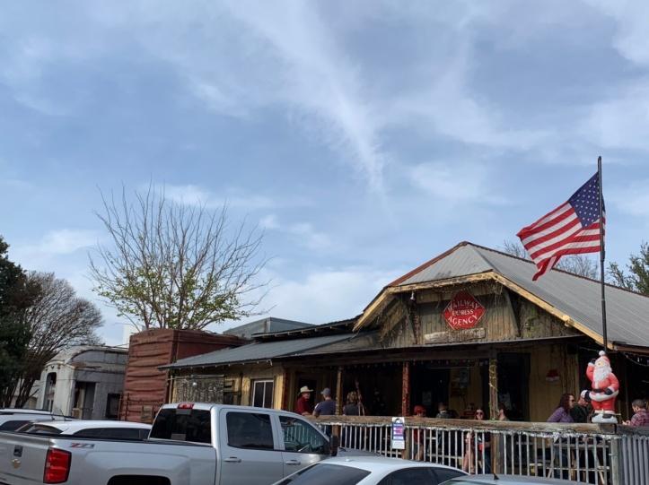 Donn's Depot 6th Annual Christmas Bazaar 2019 Austin Texas front exterior