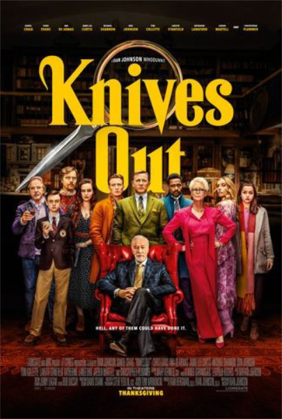 Knives Out, Flim, Daniel Craig