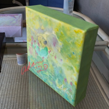 Examples of Sides Painted in Layers - Birds Eye View ©Felipe Adan Lerma