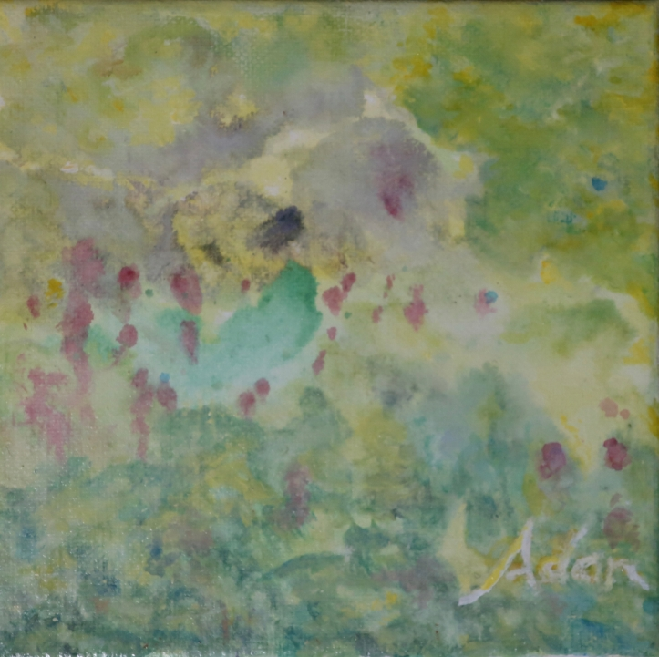 Bird's Eye View 6x6 Acrylic Watercolor #1 ©Felipe Adan Lerma https://fineartamerica.com/featured/birds-eye-view-6x6-acrylic-watercolor-1-felipe-adan-lerma.html?newartwork=true
