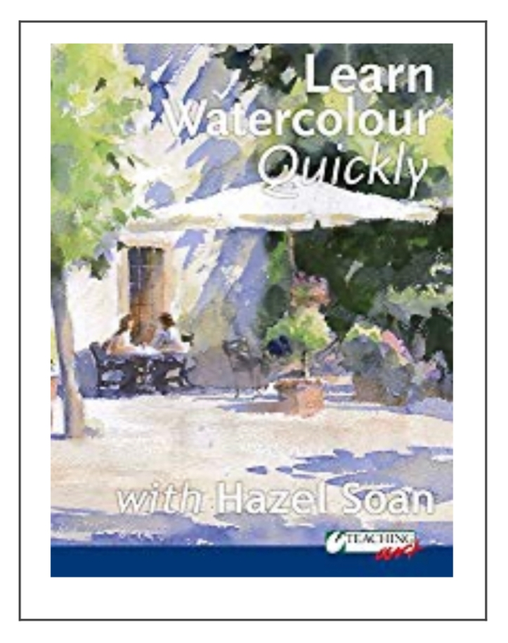 Learn Watercolour Quickly with Hazel Soan https://amzn.to/2SXdcZA